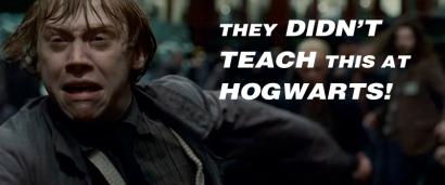Run, Ron! RUN!